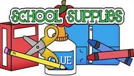 2018 – 2019 School Supply Lists